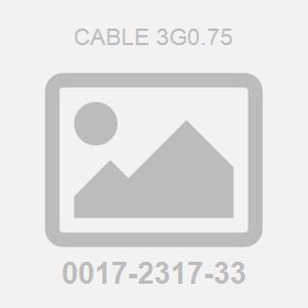 Cable 3G0.75