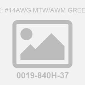 Wire: #14Awg Mtw/Awm Green Pv