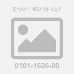 Shaft 40X16 Key