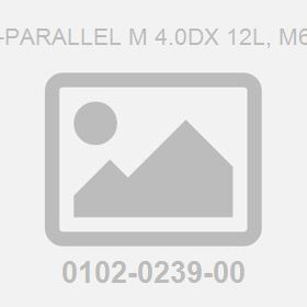 Pin-Parallel M 4.0Dx 12L, M6 To