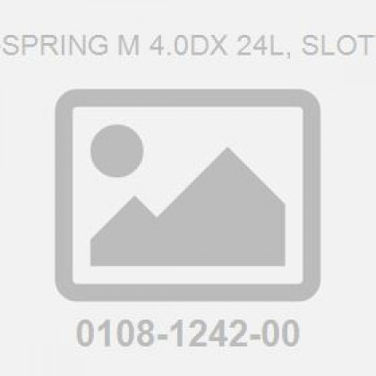 Pin-Spring M 4.0Dx 24L, Slotted