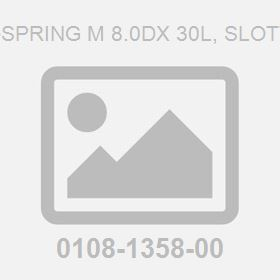 Pin-Spring M 8.0Dx 30L, Slotted