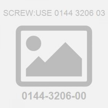 Screw:Use 0144 3206 03