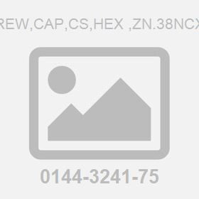 Screw,Cap,Cs,Hex ,Zn.38Ncx1.5