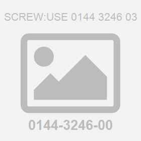 Screw:Use 0144 3246 03