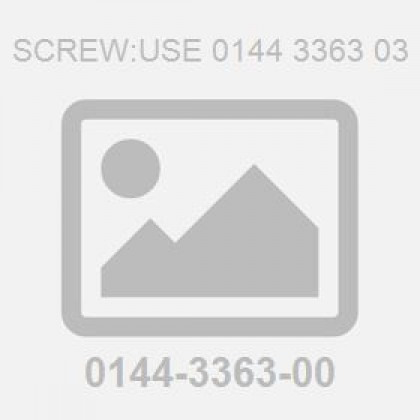 Screw:Use 0144 3363 03