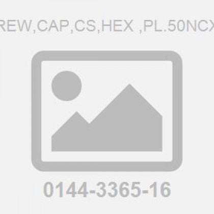 Screw,Cap,Cs,Hex ,Pl.50Ncx1.5