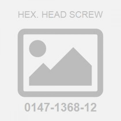 Hex. Head Screw