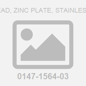 M20X120;Hex Head, Zinc Plate, Stainless Steel Screw