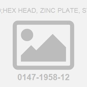 Screw M16X100;Hex Head, Zinc Plate, Stainless Steel