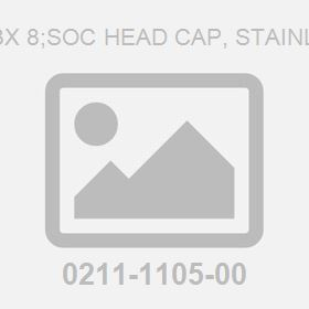 Screw: M 3X 8;Soc Head Cap, Stainless Steel