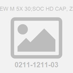 Screw M 5X 30;Soc Hd Cap, Zn Pl