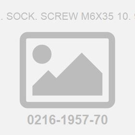 Hex. Sock. Screw M6X35 10. 9 Fz