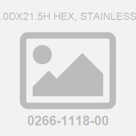 Nut M24.0Dx21.5H Hex, Stainless Steel 8