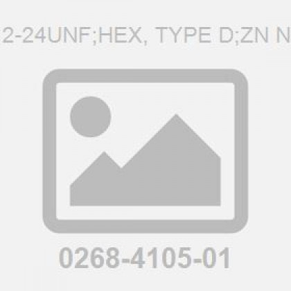 .312-24Unf;Hex, Type D;Zn Nut