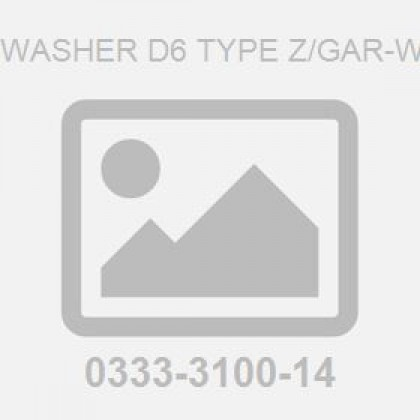 CS Washer D6 Type Z/Gar-Wco