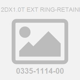 M 12Dx1.0T Ext Ring-Retaining
