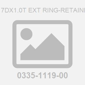 M 17Dx1.0T Ext Ring-Retaining