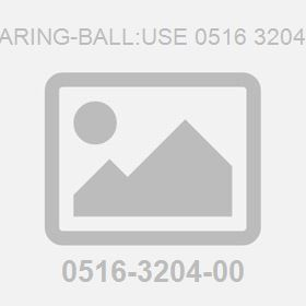Bearing-Ball:Use 0516 3204 01