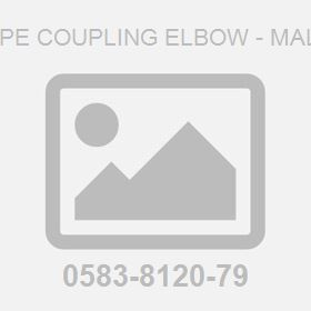 Pipe Coupling Elbow - Male