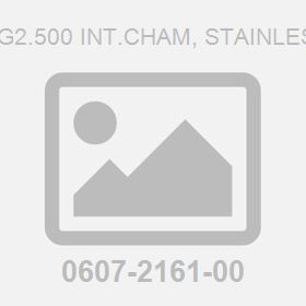 Socket G2.500 Int.Cham, Stainless Steel