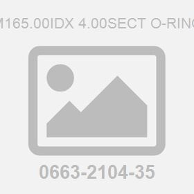 M165.00Idx 4.00Sect O-Ring