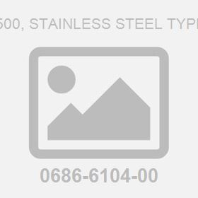 Iso 7-R .500, Stainless Steel Type D Plug