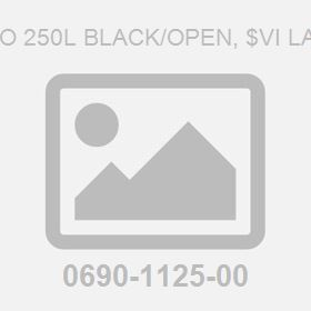 Logo 250L Black/Open, $Vi Label