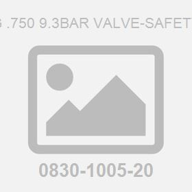 G .750 9.3Bar Valve-Safety