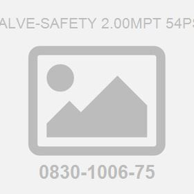 Valve-Safety 2.00Mpt 54Psi