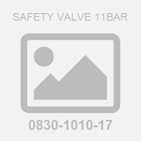 Safety Valve 11Bar