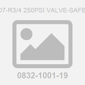 Iso7-R3/4 250Psi Valve-Safety