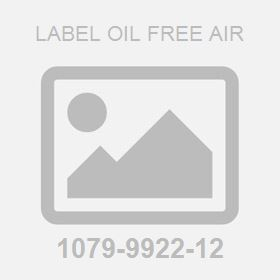 Label Oil Free Air