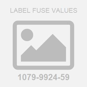 Label Fuse Values