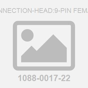 Connection-Head:9-Pin Female