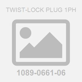 Twist-Lock Plug 1Ph