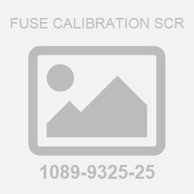 Fuse Calibration Scr