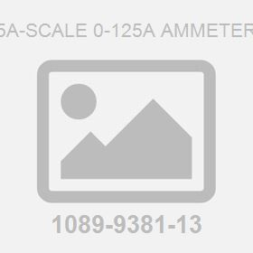 5A-Scale 0-125A Ammeter