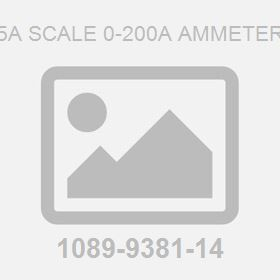 5A Scale 0-200A Ammeter