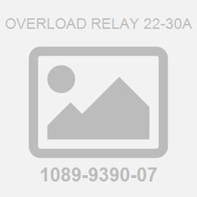 Overload Relay 22-30A