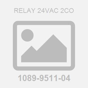 Relay 24Vac 2Co